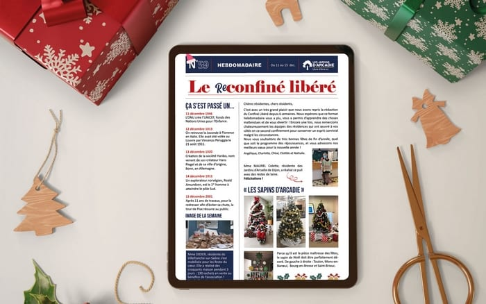 Une gazette spéciale Noël pour cette dernière édition du Reconfiné Libéré
