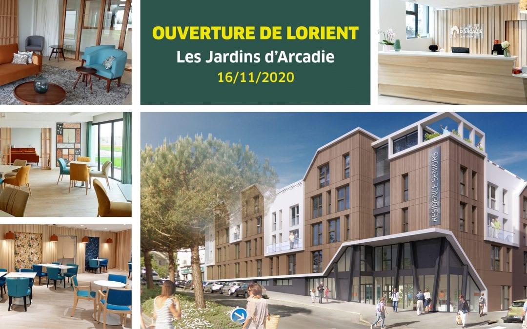 Notre dernière résidence a ouvert lundi à Lorient !