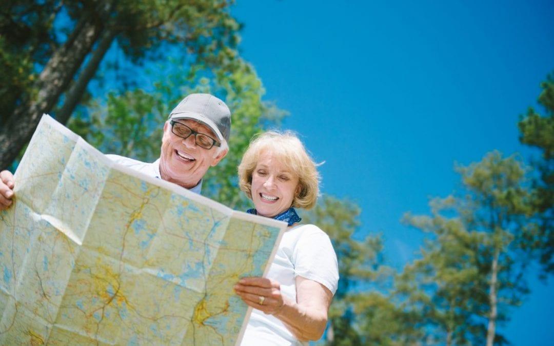 3 étapes dans la préparation d'un voyage pour les seniors