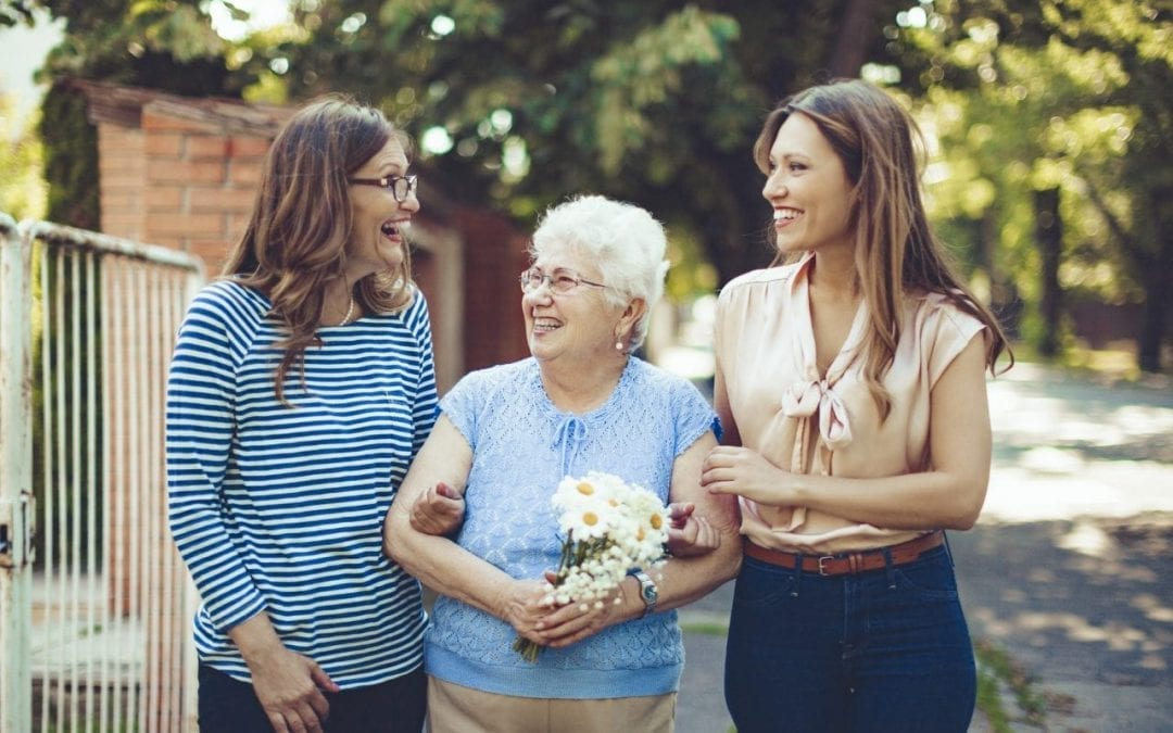 Maintenir le bien-être de nos grands-mères