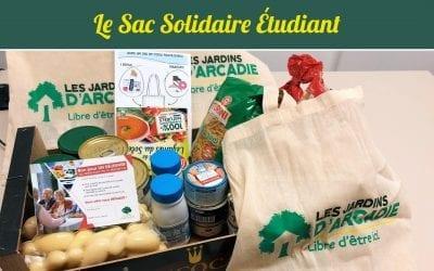 Le sac solidaire étudiant