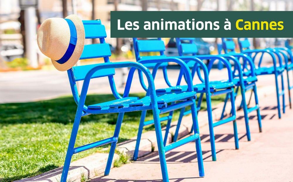 Les animations aux Jardins d'Arcadie de Cannes