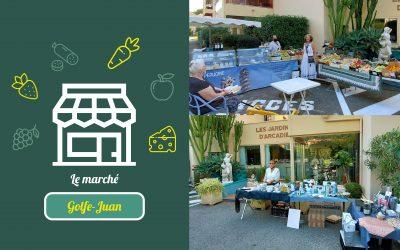 Un petit marché à Golfe-Juan !